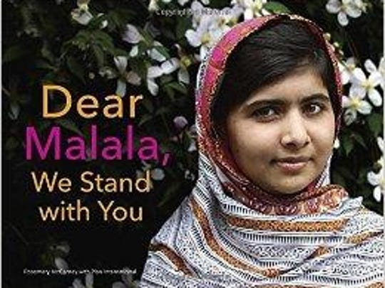 'Dear Malala, We Stand with You' by Rosemary McCarney