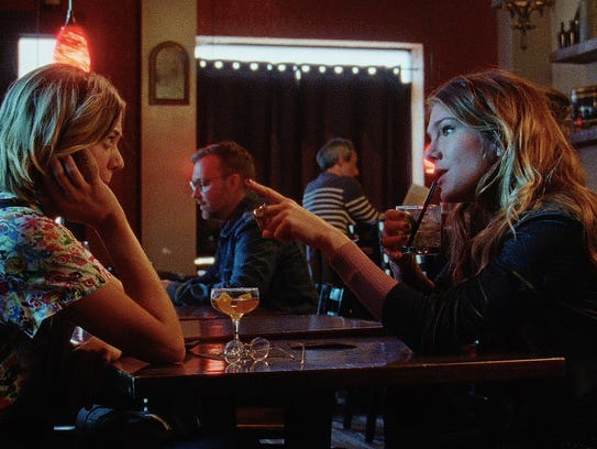 "Analeigh Tipton (left) and Lily Rabe star in ""Golden"