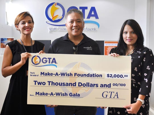 GTA proudly supports Make-A-Wish Foundation of Guam