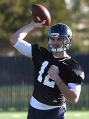 David Cornwell, a transfer from Alabama, is in the running to become Nevada's starting quarterback.