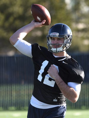 David Cornwell enters camp as the Wolf Pack's starting quarterback.