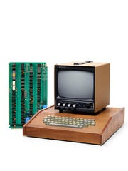 The Apple I computer was the first effort from a young