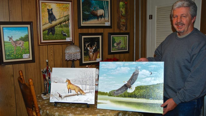 Pine Grove native Dave Kintzel has returned to pursuing his passion as a talented wildlife artist. He has a true gift for capturing the moment in his nature scenes.