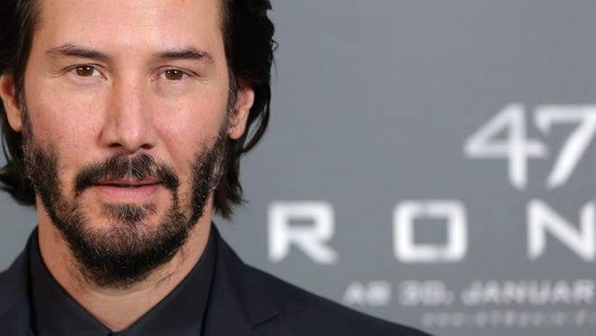 Keanu Reeves at photo shooting to promote his '47 RONIN' in Munich, Jan, 17.
