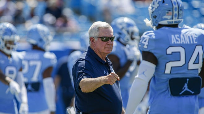 """""""I do think, for our players and our coaches, this is really the first time everybody feels like we're getting this close to playing and this is really going to happen,"""" North Carolina coach Mack Brown said. """"From everything I'm hearing, I'm feeling more like we're going to play right now than ever before."""""""