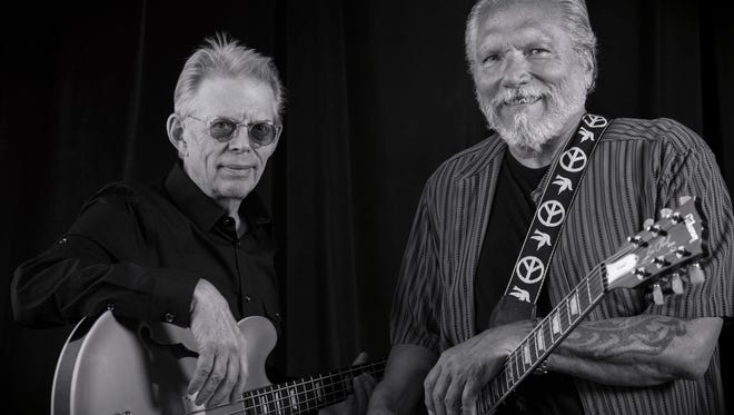 Jack Casady, left, and Jorma Kaukonen, of Electric and Acoustic Hot Tuna.