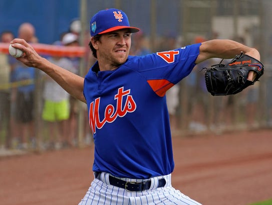 Jacob deGrom.