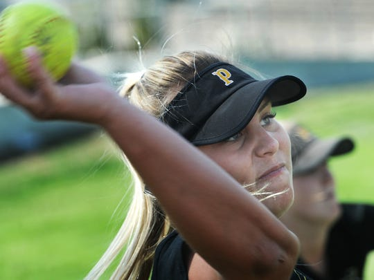 SeaEnna Satcher and Newbury Park will plat Laguna Hills in a Division 2 quarterfinal game Thursday.