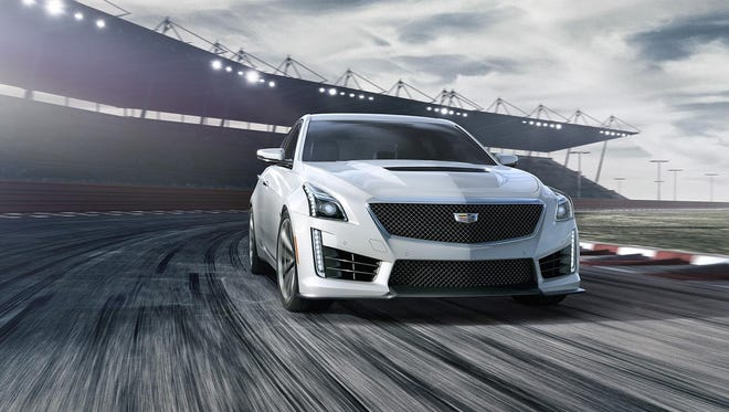 Cadillac's CTS-V can reach 60 mph from a standstill in 3.7 seconds.