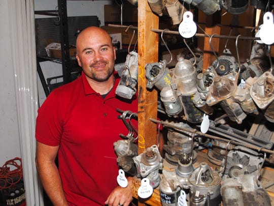 Tye Fraembs, owner of Action Auto Parts, tries to correct public misconceptions about his business. He tells potential customers that modern-day salvage companies are more recycling operations than junkyards, an outdated characterization from his grandfather's era.