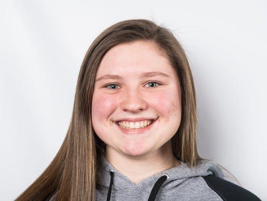 Delone Catholic High School softball player Maggie