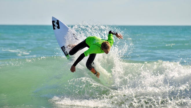 Tomy Coleman, 16, of Vero Beach, was last year's runner-up in the men's junior pro. He will compete in both the qualifying series and Junior Pro Divisions at Shepard Park beginning this Thursday.