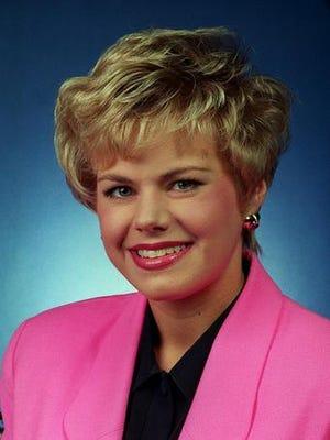 A 1994 photo of Gretchen Carlson