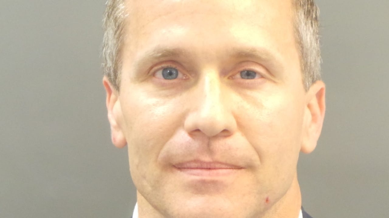 A St. Louis grand jury indicted Missouri Governor Eric Greitens for felony invasion of privacy, alleging the Republican took a compromising photo of a woman during an extramarital affair before he was elected. Greitens denies committing a crime. (Feb. 23)