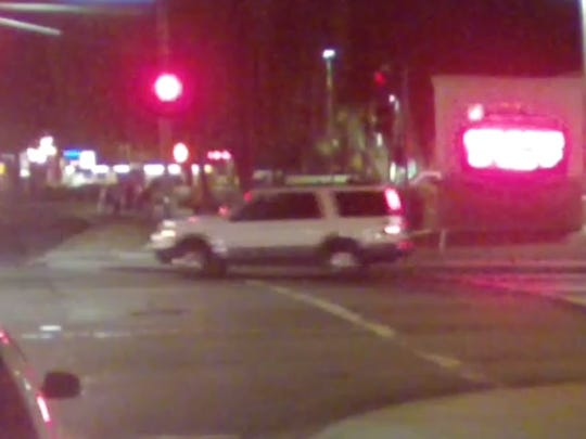 Vehicle used in Sunday's hit and run