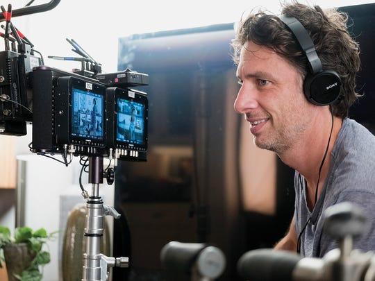 "Zach Braff directs ""Alex, Inc."""
