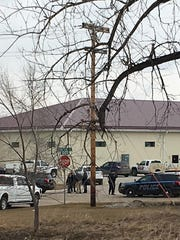 Three men and a woman were found dead inside RJR Maintenance and Management in Mandan, a city of about 22,000 just across the Missouri River west of Bismarck.