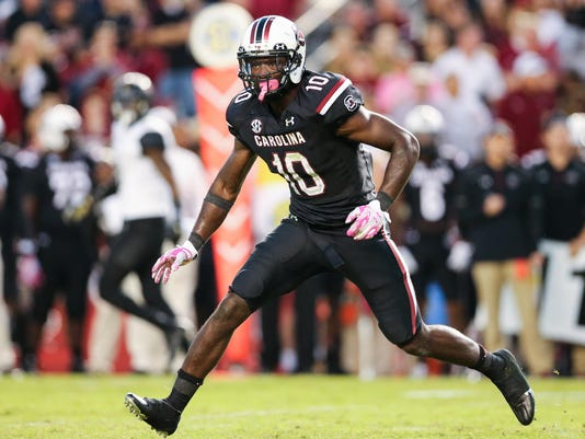 NCAA Football: Vanderbilt at South Carolina