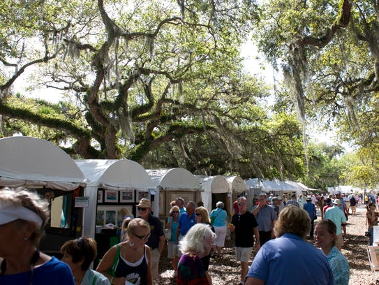 Under The Oaks Arts and Crafts Show is Saturday and
