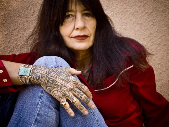 Muscogee poet, writer and musician Joy Harjo