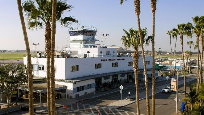 The Long Beach Airport, as seen in this 2009 file photo.