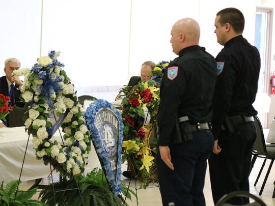 Law enforcement officers who lost their lives in the line of duty were honored at the annual Ottawa County Peace Officers Memorial Service on Thursday.