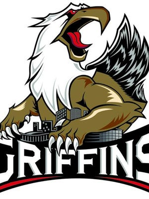 This is the Grand Rapids Griffins' new logo.