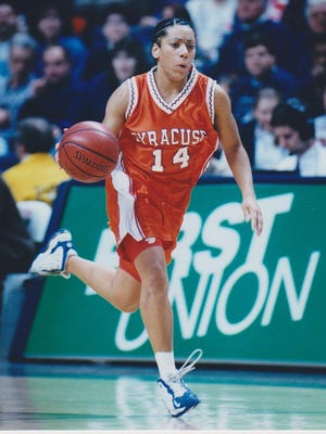 Jaime James scored more than 1,000 points as a member of the Syracuse University women's basketball program.