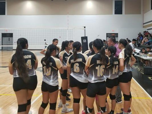 Tiyan Titans Girls Volleyball
