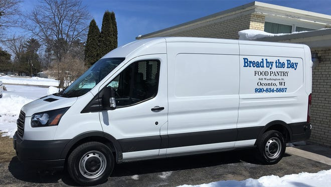 This brand-new Ford Transit van was recently donated to Bread By the Bay Food Pantry by anonymous donors.