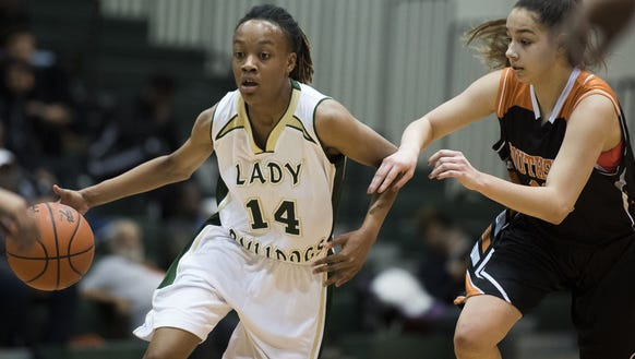 Senior guard Jashiya Henderson (14) has led Berea's