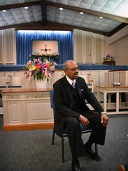 Rev. Billy Delaney, of St. John Baptist Church, has