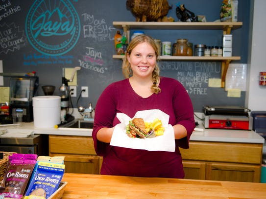 Jenna Hughes loves working at Jaya - not only for the