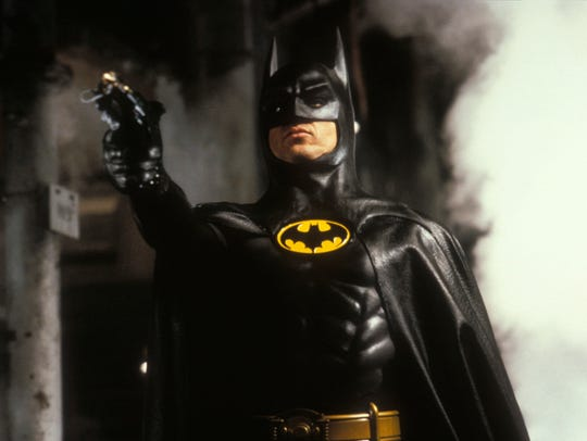 "Michael Keaton: Still the best ""Batman,"" Jon Hamm says."