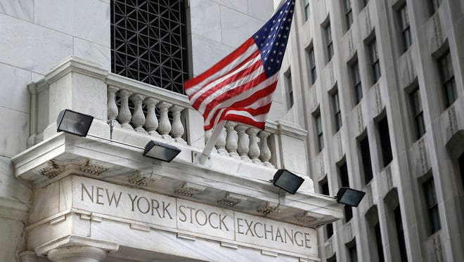 This Monday, Aug. 24, 2015, photo, shows the New York Stock Exchange.
