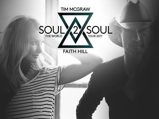 Insiders can enter to win a pair of tickets to see Tim McGraw and Faith Hill at Wells Fargo Center. 6/27-7/30.