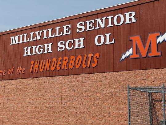 Millville Senior High School carousel