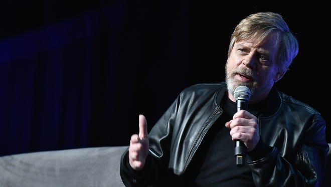 "For Mark Hamill, sharing stories of working with ""beloved space twin"" Carrie Fisher at Star Wars Celebration has been therapeutic."