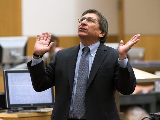 Prosecutor Juan Martinez presents his final arguments