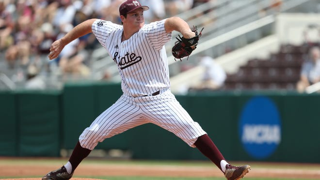 Mississippi State's Cole Gordon will start Friday vs. USA.
