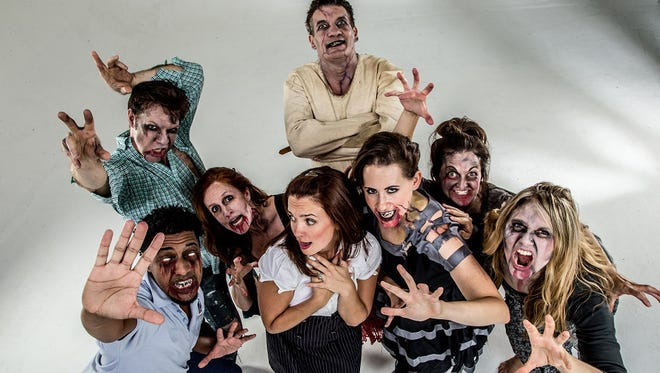 """Movement Source Dance Company's """"The Danse Macabre"""" is a zombie-themed show packed with stage illusions."""