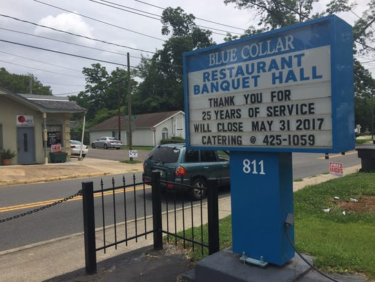 After 25 years in Frenchtown, the Blue Collar restaurant