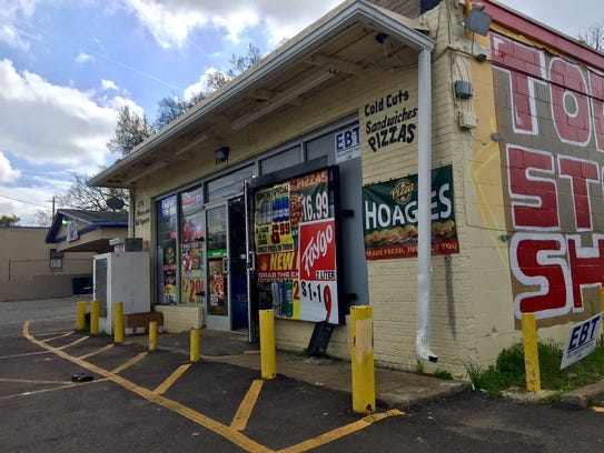 Memphis Police charged a clerk from this store at 1127 Springdale with first-degree murder in the unreported shooting of a suspected shoplifter, who later was found dead.