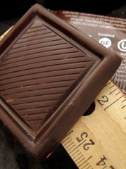 A 10-gram square of dark chocolate from Endangered