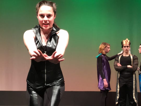 "Westlake High School senior Alessia Mussolini is The Leading Player in ""Pippin."""