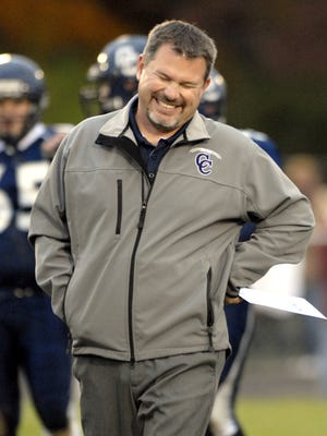FILE – After winning five Class A state titles at Lafayette Central Catholic, Kevin O'Shea led North Central to an upset win in his first game in charge.