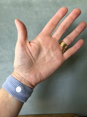 Wristbands that press on accupressure points to combat nausea work for some people.