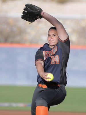 UTEP's softball team lost to NMSU on Sunday in Las Cruces.