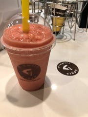 T-swirl Slushes are fruity, fun frozen juice drinks at T-swirl Crepe in Haddonfield and Fort Lee, as well as Philadelphia and New York City.