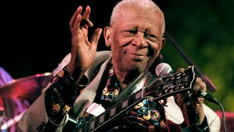 Blues icon B.B. King will be laid to rest at his museum in Indianola, Miss., today.